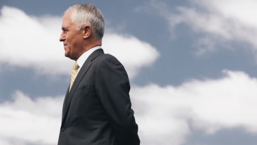 Malcolm Turnbull's high personal standing has sunk during his leadership.
