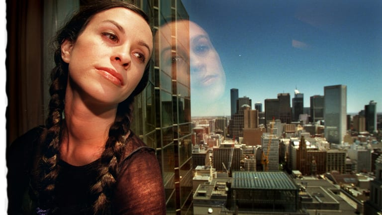 Alanis Morisette is touring early next year.