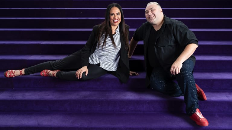 Christine Anu and Trevor Ashley are primed for the Hear Me Roar concert at the Opera House.