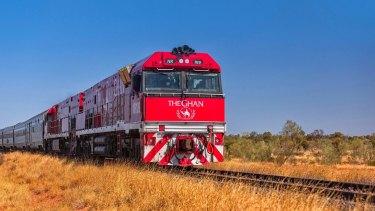 The Ghan: Australia's Greatest Train Journey.