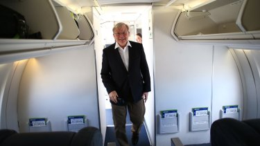 Are Kevin Rudd's jet-setting days over or will he take a tilt at the top UN job?