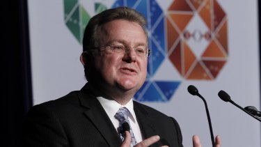 Small Business Minister Bruce Billson.