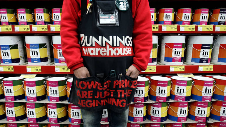 An industry insider says Bunnings is more concerned about a merger between Mitre 10 and Home than the future of Masters.