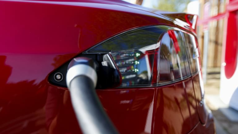 The oil industry has some immediate concern about the rise of electric cars.