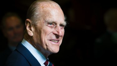 Prince Philip, pictured in 2015, has been admitted to hospital with an infection.