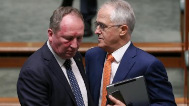 Deputy Prime Minister Barnaby Joyce and Prime Minister Malcolm Turnbull both raised concerns with South Australia's energy infrastructure.