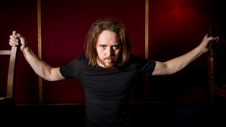 Tim Minchin, who is in Melbourne for the opening of <i>Matilda</i> the musical.