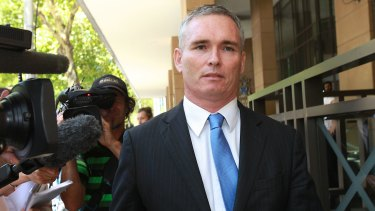 Former Labor MP for Dobell Craig Thomson