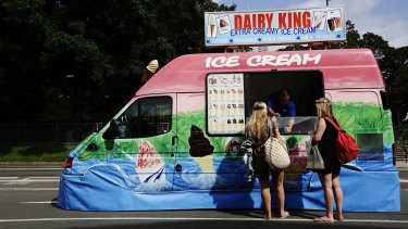Not so cool: If you want to beat the heat, there are better things to eat than ice cream.