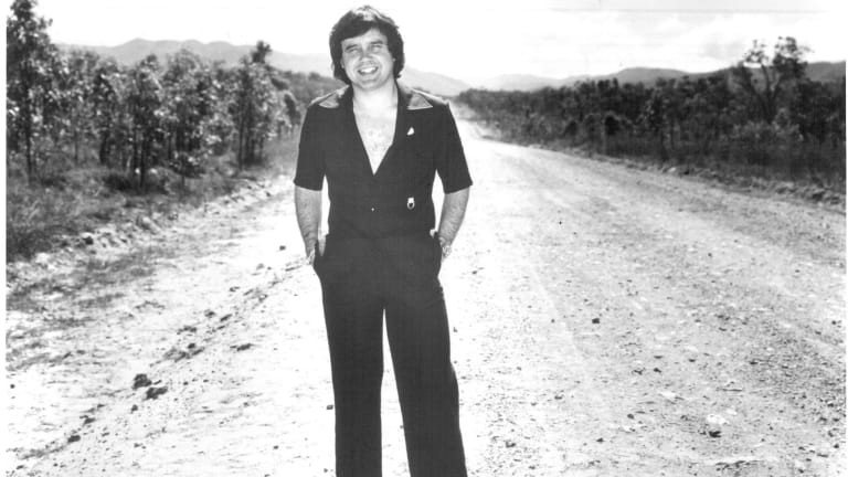 Peter Luck, pictured in 1981, stepped into  the limelight as a reporter on This Day Tonight, the ABC's then-flagship current affairs program.
