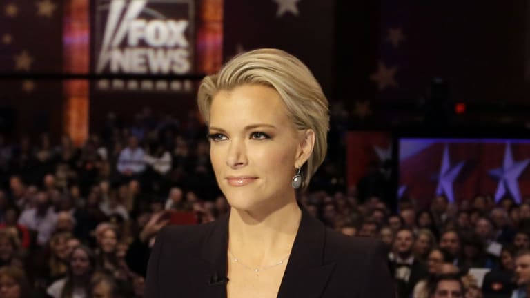 Then-Fox News presenter Megyn Kelly, who has now left for NBC.