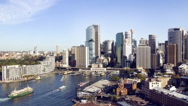 Sydney commercial property is the most sought after by investors.