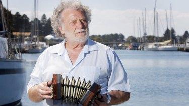Singer Danny Spooner was a stalwart of the Port Fairy Folk Festival.