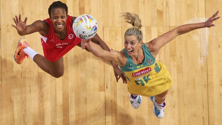 Goals on and off the court: players like Laura Geitz have provided the on-court action but INF president Molly Rhone has declared Sydney's Netball World Cup the best ever.