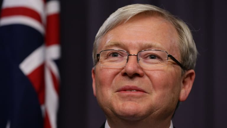 Former prime minister Kevin Rudd says another country offered to nominate him for UN Secretary General.