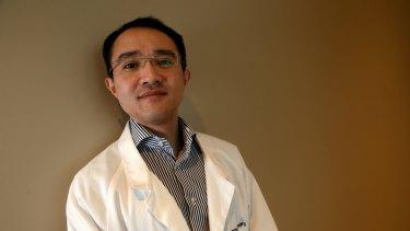 Neurosurgeon Michael Wong.