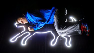 Joshua Jenkins plays Christopher Boone in?The Curious Incident of the Dog in the Night-time.?Photo Brinkhoff Mogenburg