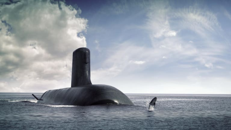 About 40 naval engineers, architects and other technicians will stop work on the subs program for a week.