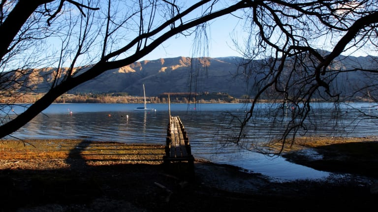 A man who helped Donald Trump's rise - early Facebook investor and Trump donor Peter Thiel - recently bought a 477 acre block of land surrounding Lake Wanaka.