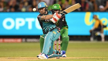 Brendon McCullum had a big night for the Heat against the Stars.