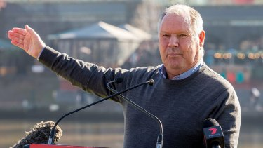 Lord mayor Robert Doyle tweeted support for the bowlers.