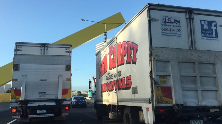 Heavy vehicle operators face a large increase in CityLink tolls from April 1.