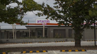 Parents turned up to find Artemis early learning centre closed on Monday morning.