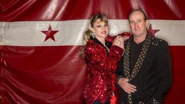 Proprietors Cathy and Tony Maynard.
