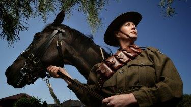 Saddle up: Donna Wright hopes horses and riders will soon return to Malabar Headland.
