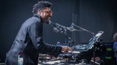 From his position at the keyboard, Morris Hayes oversaw the results of Prince's perfectionism.