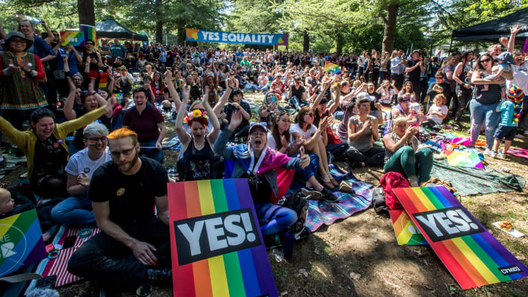 Canberrans react to the Yes vote.
