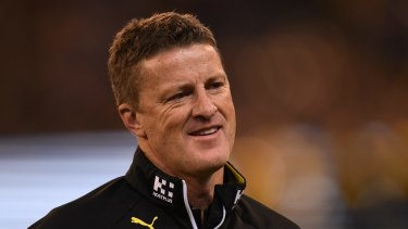 Richmond coach Damien Hardwick has had an outstanding season ... and it's not over yet.