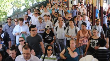 Thousands of people are flocking to Victoria from Queensland.