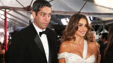 Actress Sofia Vergara and Nick Loeb in 2013.