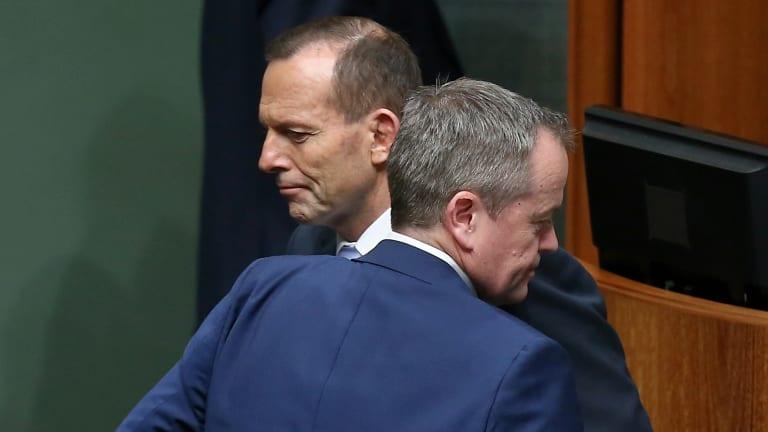 Prime Minister Tony Abbott and Opposition Leader Bill Shorten.