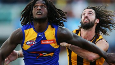 Who ya gonna call? Potentially either Nic Naitanui or a random person in Queensland.
