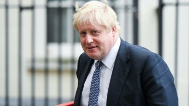 British Foreign Secretary Boris Johnson is tipped by some as a leadership contender.