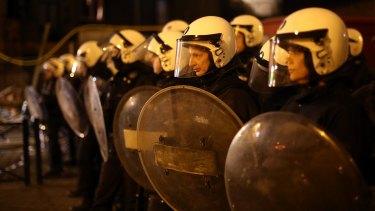 Belgian police arrested three people in raids, including Abdeslam, in Molenbeek last week.