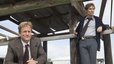 TV's detectives looking for clues    and love