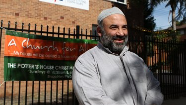 """Keysar Trad said husbands assaulted their wives as a """"last resort"""" only."""