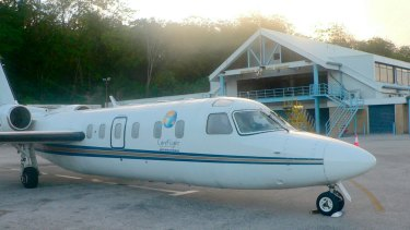 Westwind, the Pel-Air plane that ditched into the ocean off Norfolk Island in 2009.