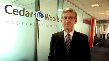 Paul Sadleir, CEO Cedar Woods