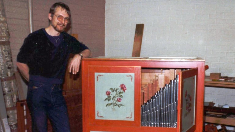 Knud Smenge: crafted or restored major organs in every state and the ACT during his career.