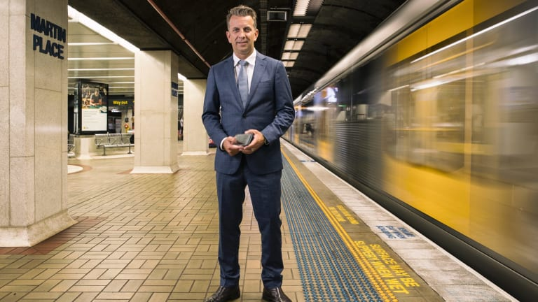 NSW Transport Minister Andrew Constance says people need to embrace disruption.