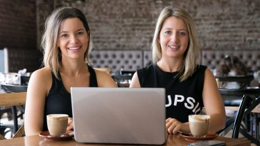 Deborah Laurence and Abi Holman founded portal Fitness Calendar in October to connect Sydney consumers with fitness training providers.