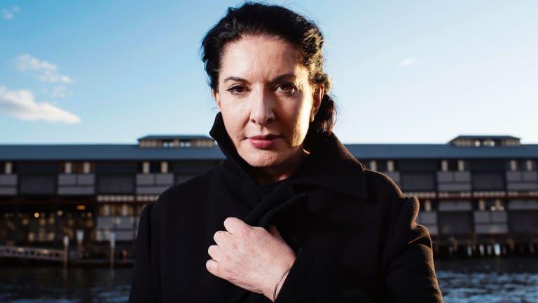 Artist Marina Abramovic has been criticised for her alleged description of Australian Aboriginals.