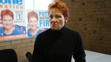 Pauline Hanson puts media on notice on the Facebook page Pauline Hanson's Please Explain.