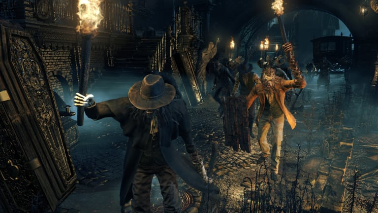 Don't expect to see too many friendly faces throughout your playthrough of <i>Bloodborne</i>.