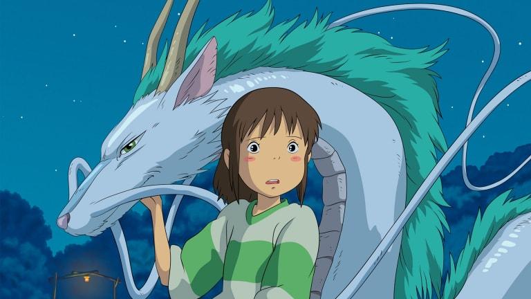 Hayao Miyazaki's 2001 animation, <i>Spirited Away</i>.