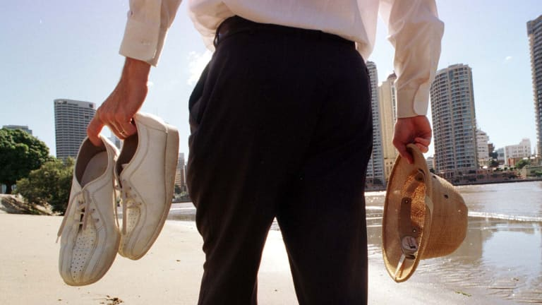 The White Shoe Brigade is alive and well in Queensland property.